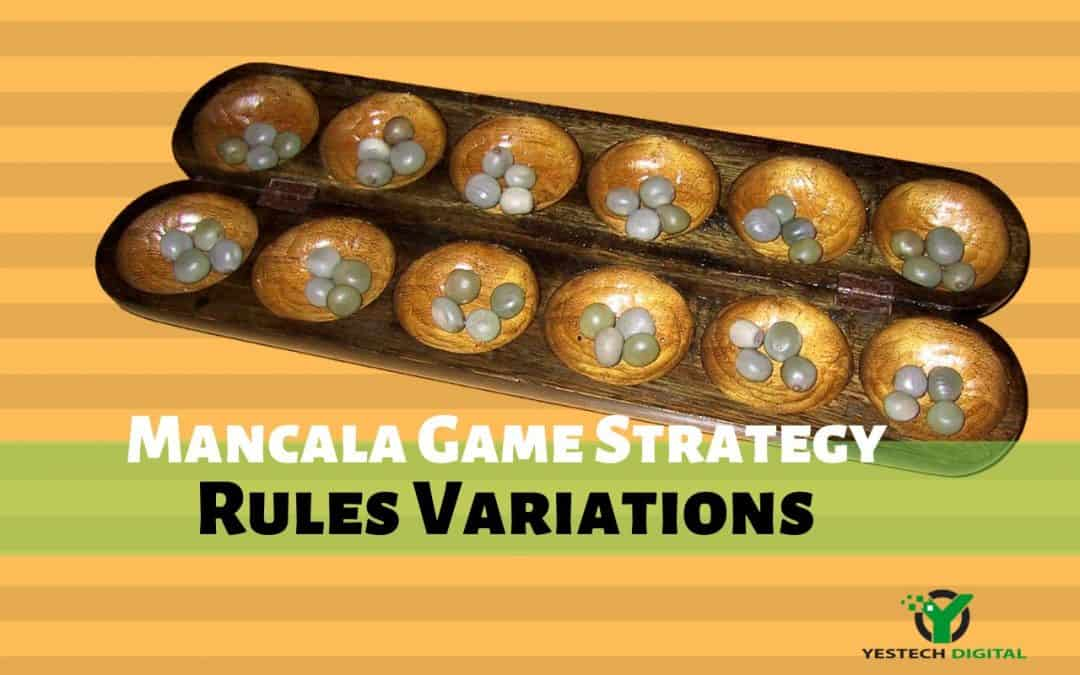 Mancala Game Strategy and Rule Variation