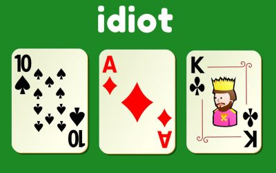 How to Play Idiot card game – with family